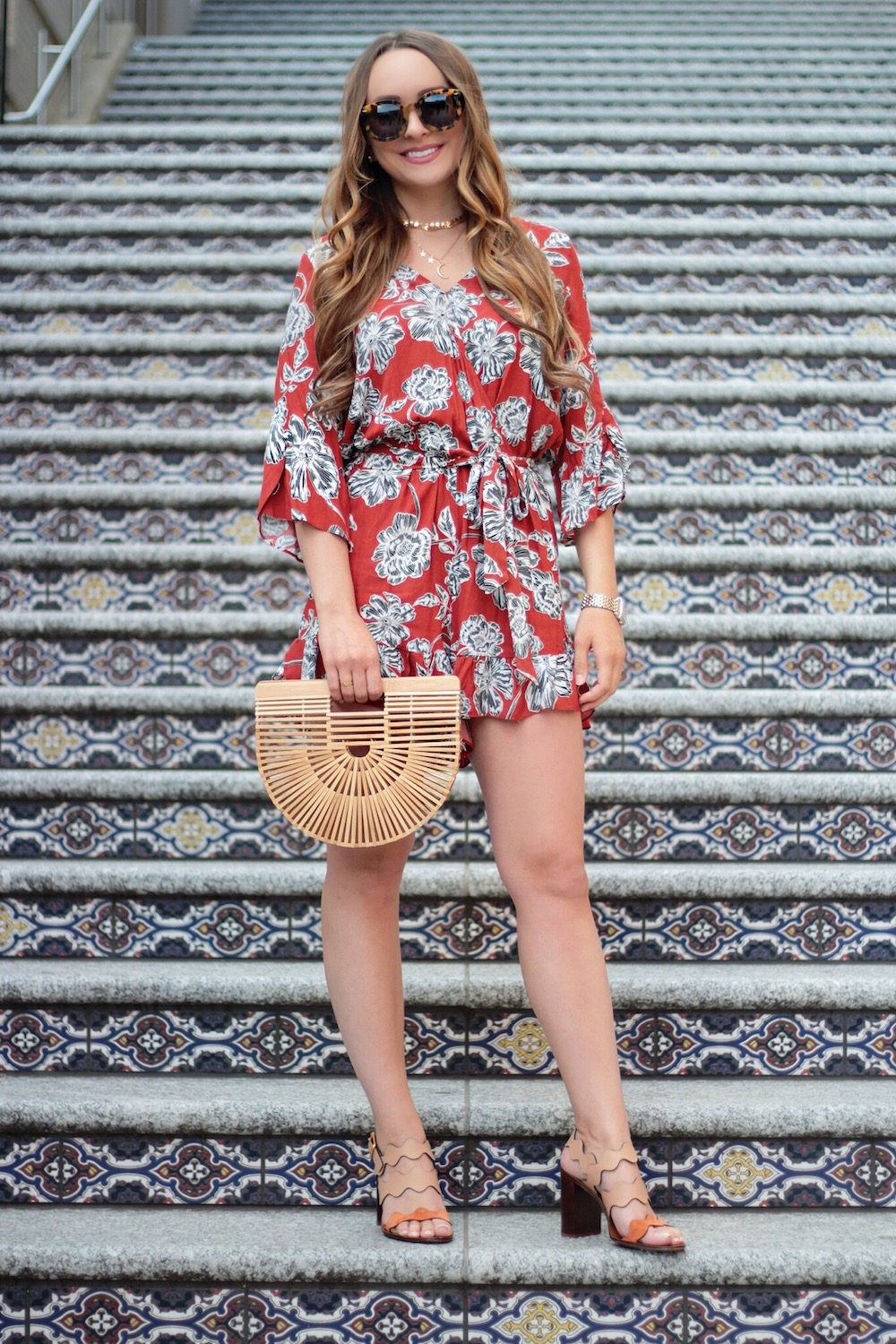 floral romper under 35 rachel puccetti between two coasts