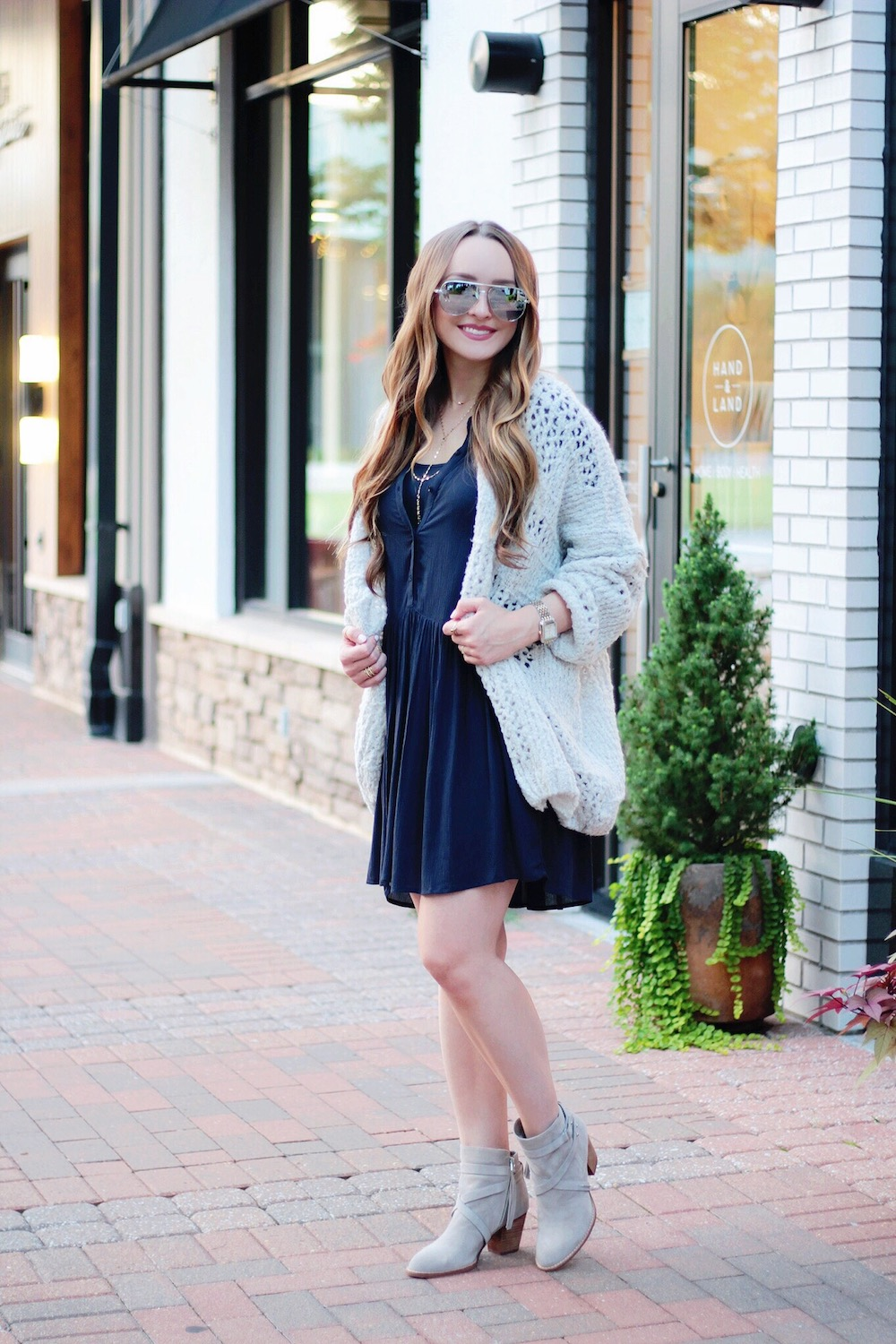 dress and free people sweater rachel puccetti between two coasts