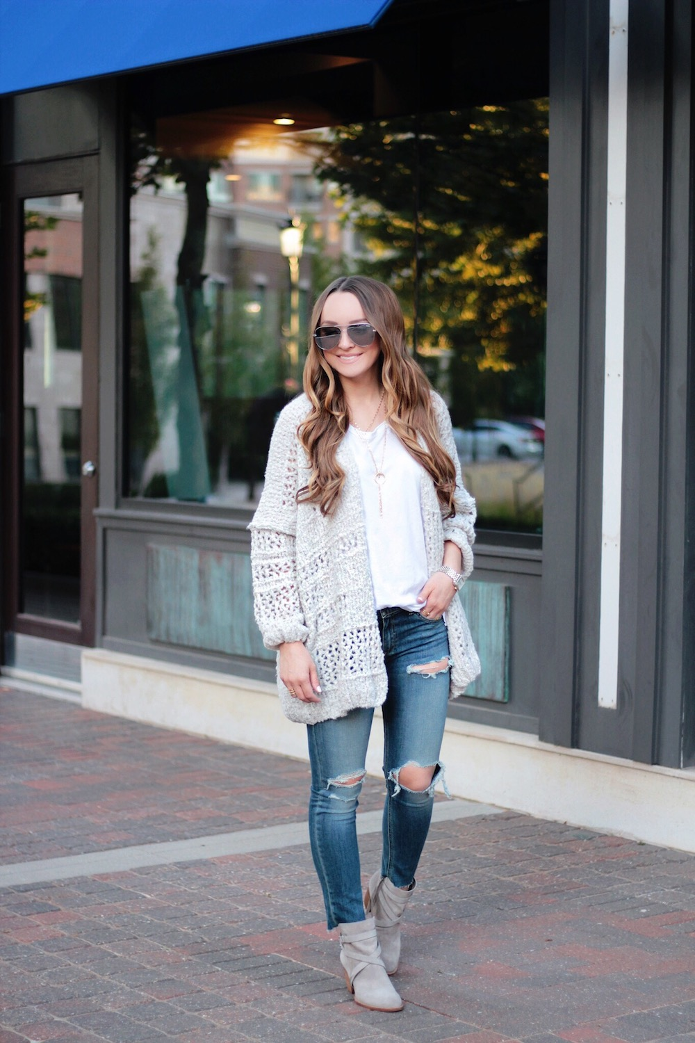 fall outfit idea cozy sweater rachel puccetti