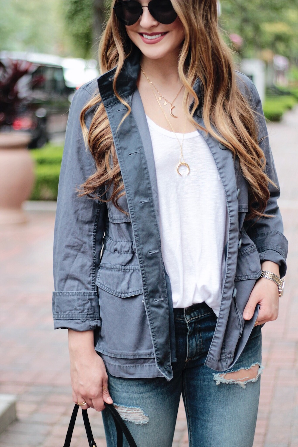madewell utility jacket rachel puccetti between two coasts