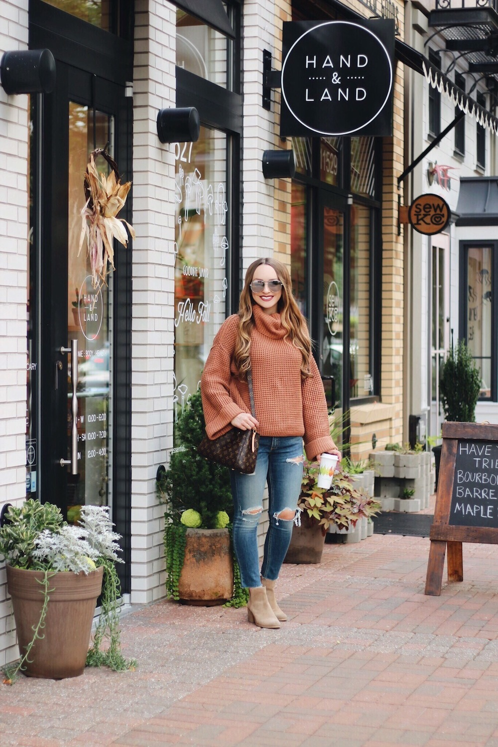 favorite fall sweater rachel puccetti between two coasts