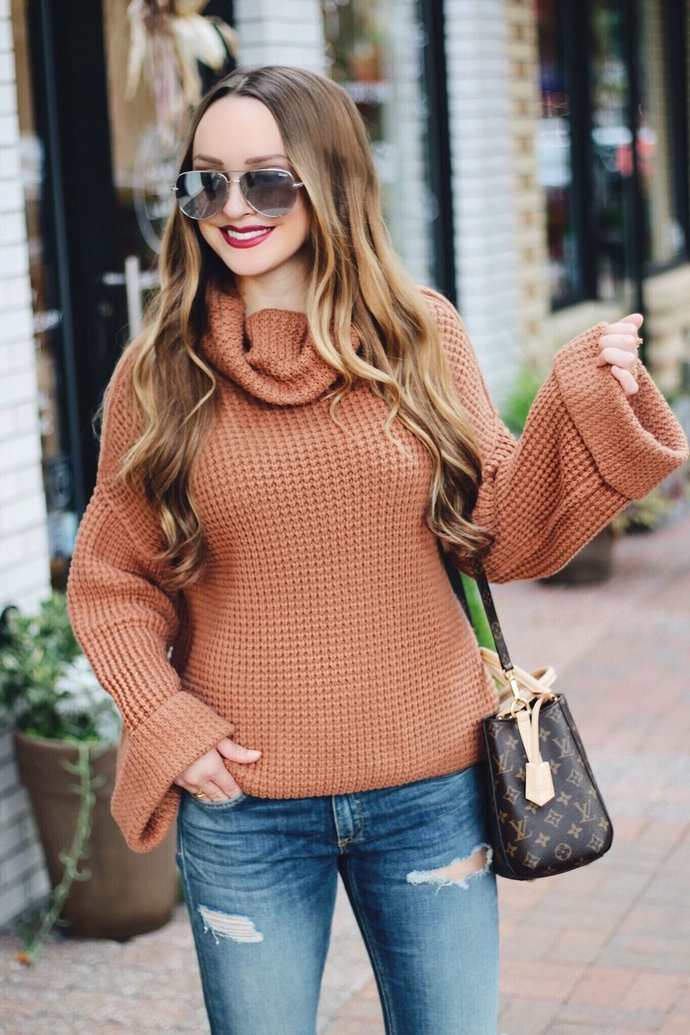 sweater weather fall style rachel puccetti between two coasts
