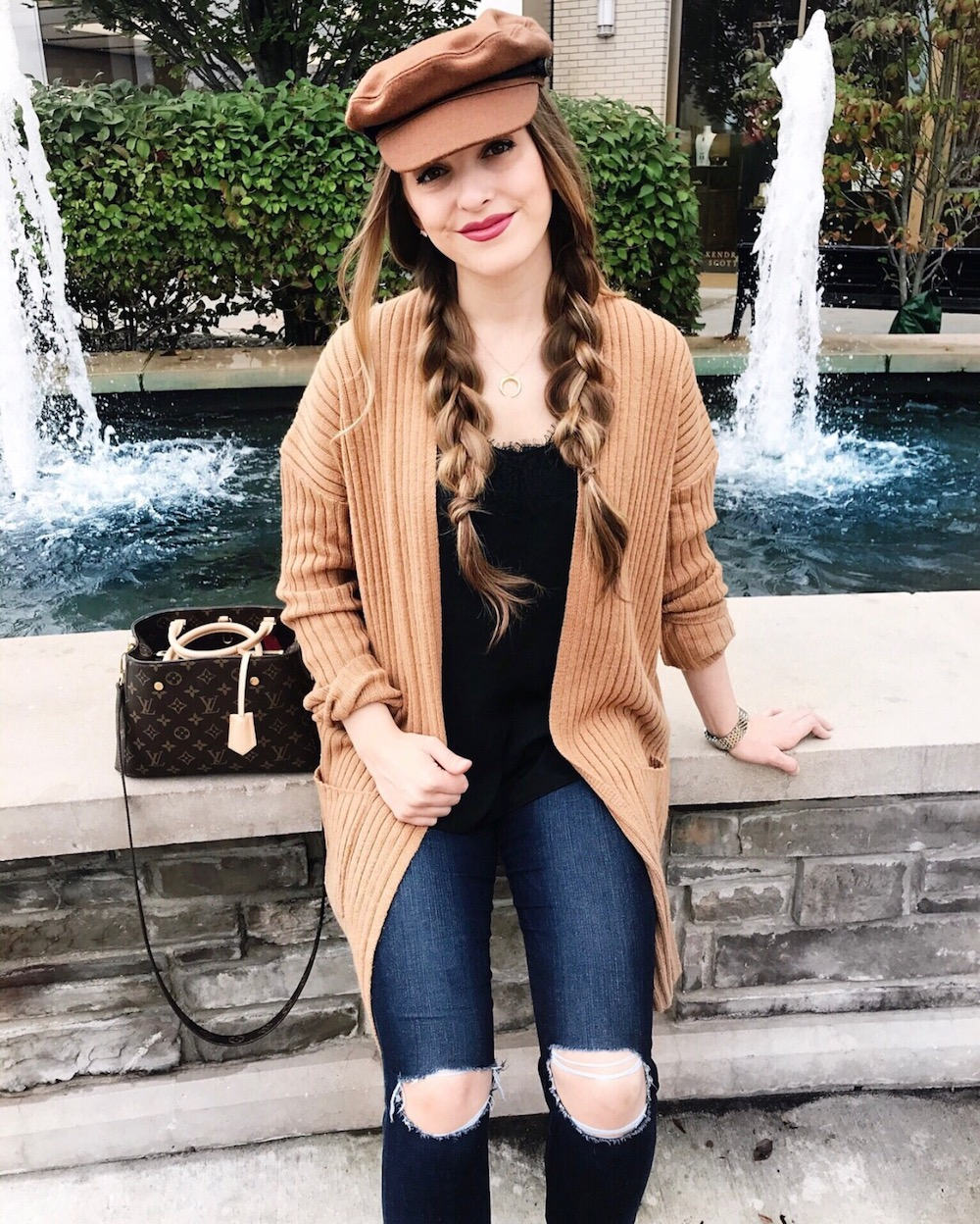 fiddler cap fall style rachel puccetti between two coasts