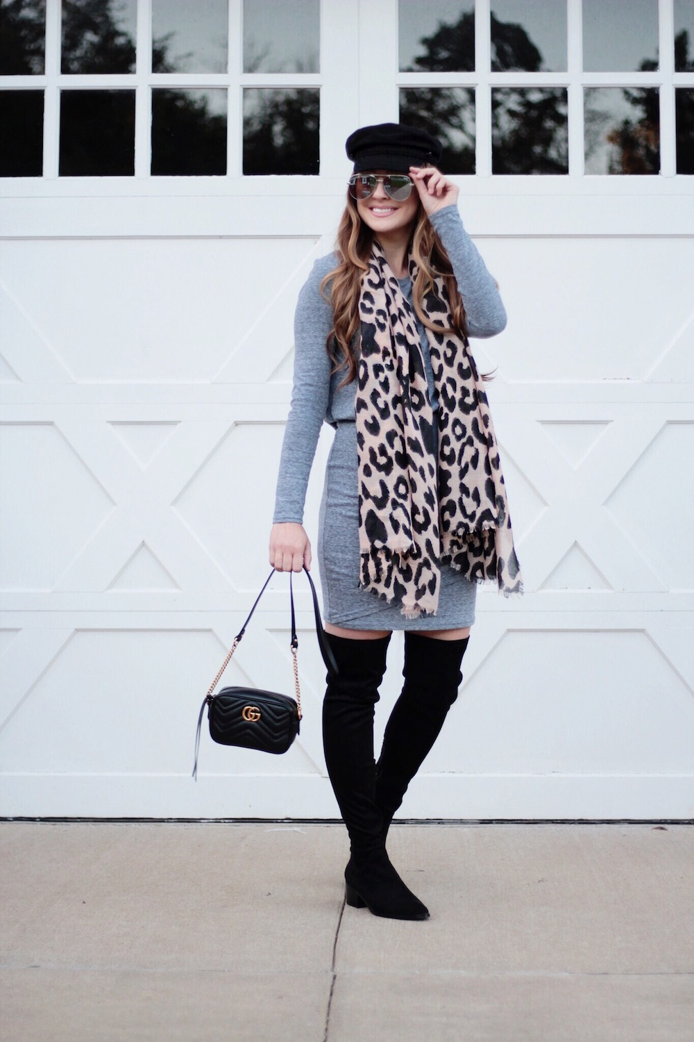 leopard print scarf rachel puccetti between two coasts