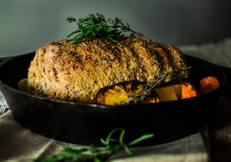 Citrus Crusted Pork Loin