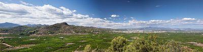 Panoràmica des de la Muntanyeta de Sant Antoni
