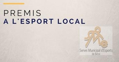L'Ajuntament atorga els Premis a l'Esport Local