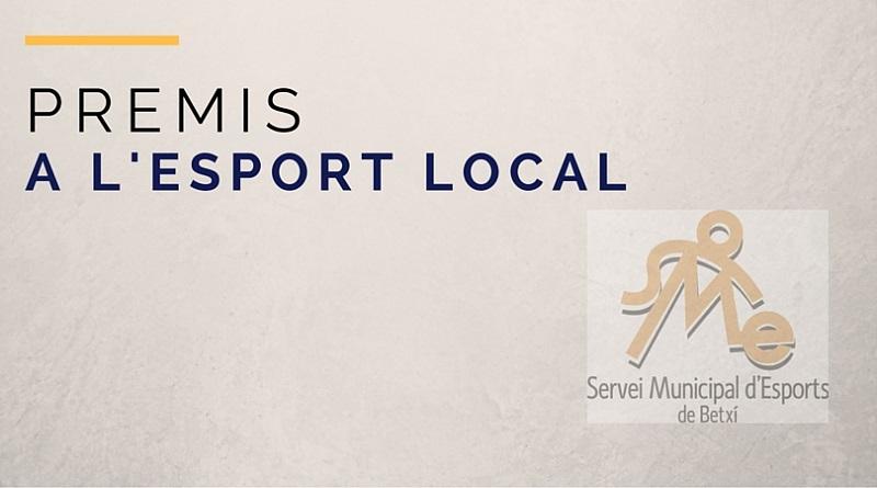 L'Ajuntament convoca la VII edició dels Premis a l'esport local