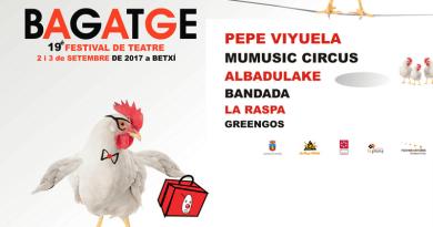 Bagatge. 19è Festival de Teatre