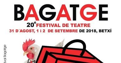 BAGATGE 20é Festival de Teatre