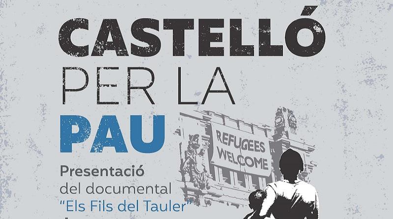 """Castelló per la pau, presentació del documental """"Els fils del tauler"""""""