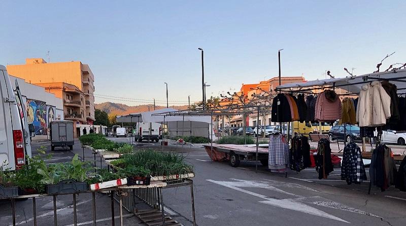 Betxí torna a obrir el mercat del dimecres al Frontó Municipal