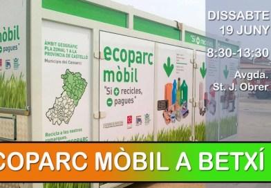 Dissabte 19 de juny, Ecoparc mòbil a Betxí