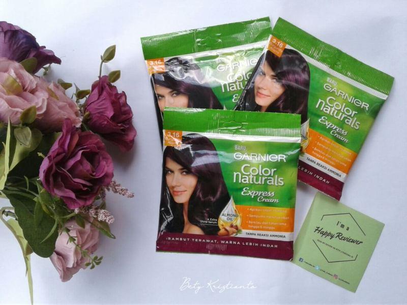 Say Good Bye Sama Rambut Rusak Berkat Garnier Color Naturals Express Cream