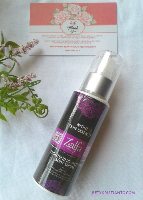Zalfa Miracle Lightening Active Kakadu Plum Extract