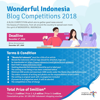 Wonderful Indonesia Blog Competition