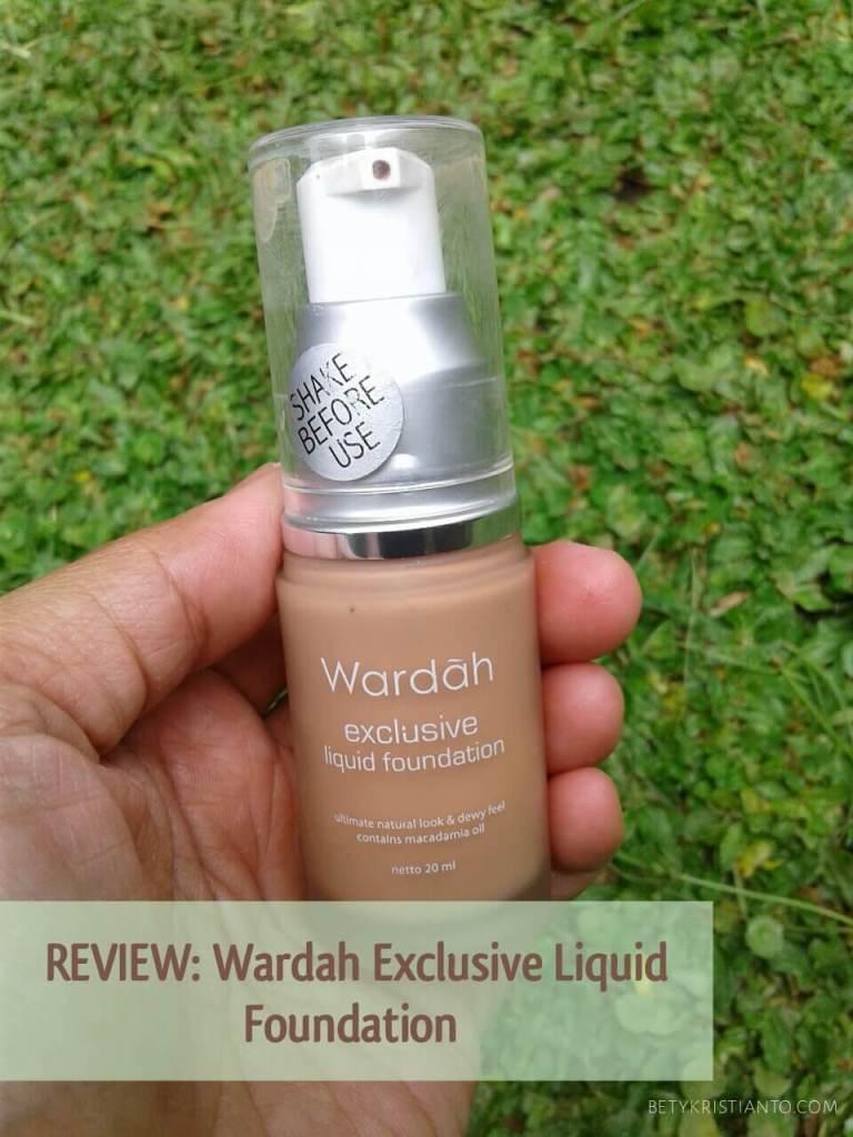 Review Wardah Exclusive Liquid Foundation