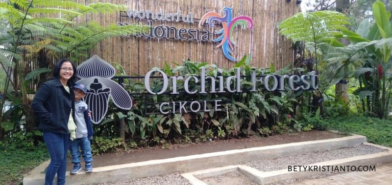 Orchid Forest Cikole, Wahana Alam yang Asik untuk Keluarga