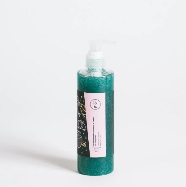 gel nettoyant vert