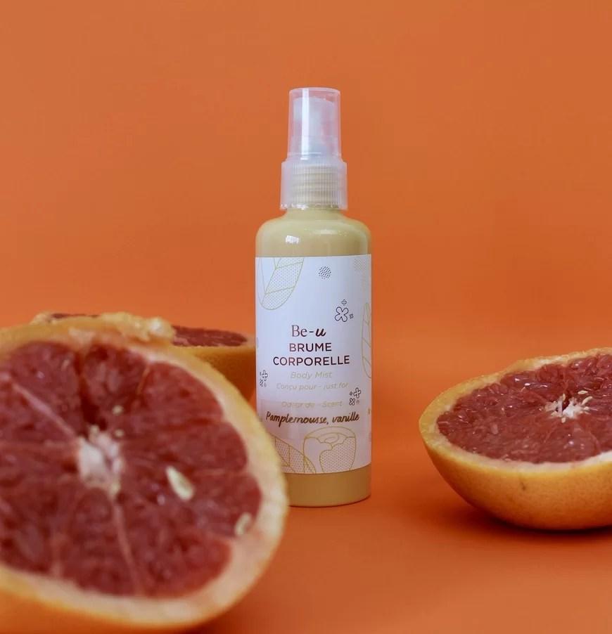 Body Mist – Grapefruit and Vanilla