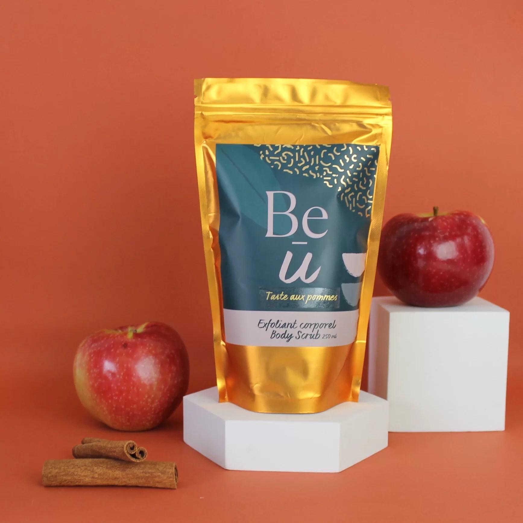 Exfoliant Corporel – Tarte aux pommes