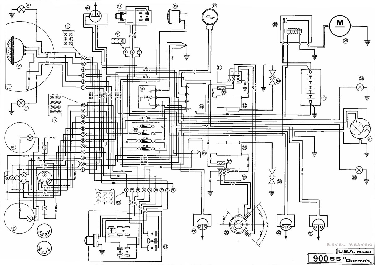 Ducati 796 Wiring Diagram