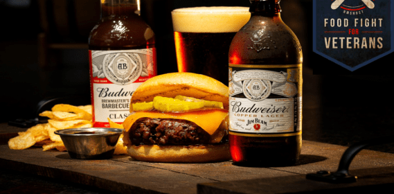 VETERAN CHEF CREATES EXCLUSIVE AIRPORT BURGER BENEFITING MILITARY CHARITIES