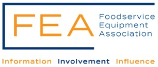 The Foodservice Equipment Association who offer Information Involvement and Influence
