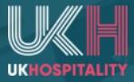UKHospitality - COVID-19 Draft Hospitality