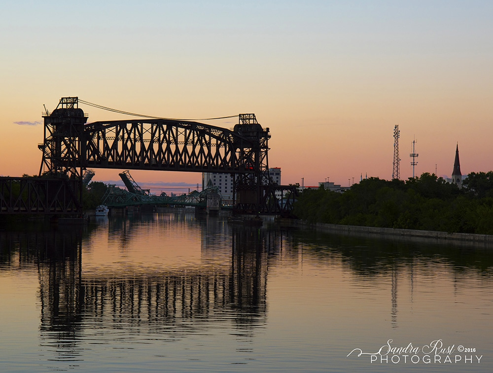 Rail Lift Bridge Joliet IL