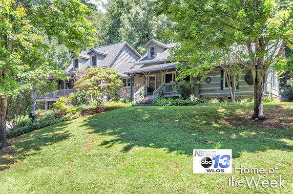 WLOS Home of the Week: 56 McAbee Trail