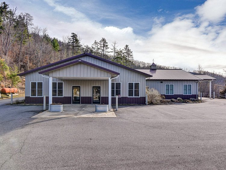 Commercial Property Showcase: 121 Barnardsville Highway in Weaverville, NC 28787
