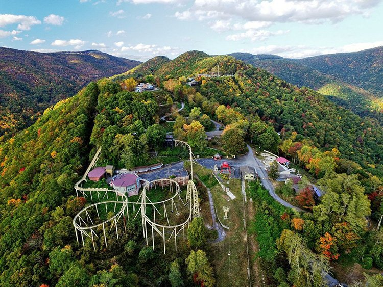 Beverly-Hanks agent Billy Case is the listing agent for the former Ghost Town in the Sky amusement park.
