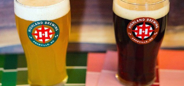 Asheville: Free Pint from Highland Brewing Company
