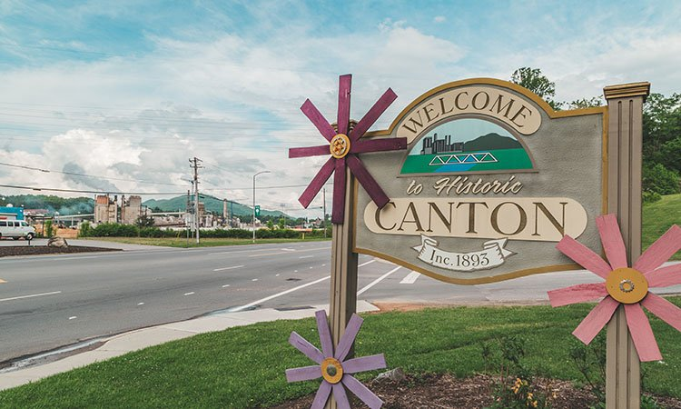 Canton, NC: One Small Town that's Open for Business