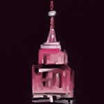 New York Nocturne: Pink Empire State Building