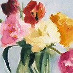 Tulips in My Studio