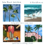 Sketchbook: Palm Beach Colors
