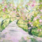 Two Central Park Cherry Blossom Art Prints
