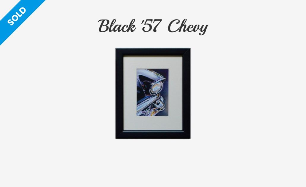 Black '57 Chevy