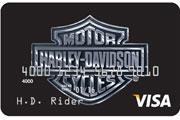 harley-davidson visa secured credit card