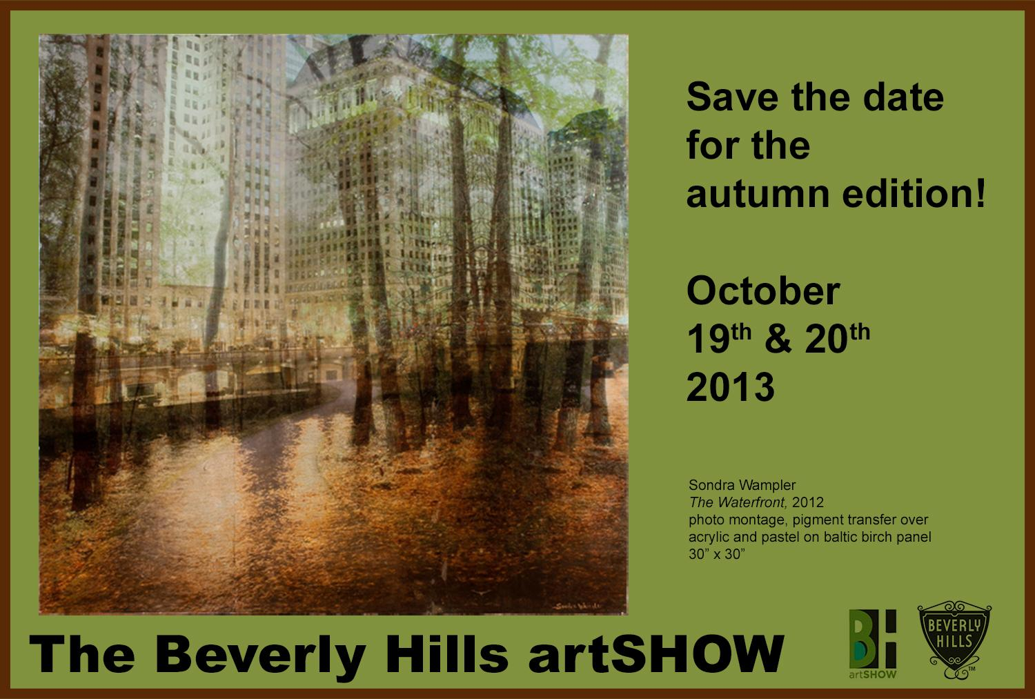 Beverly Hills Art Show. October 19-20, 2013
