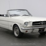 1965 Ford Mustang Convertible C Code Beverly Hills Car Club