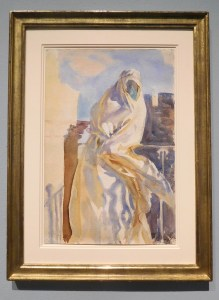 An Arab Woman by John Singer Sargent, Watercolor.