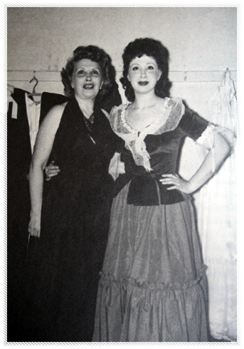 Beverly and Shirley, her mom