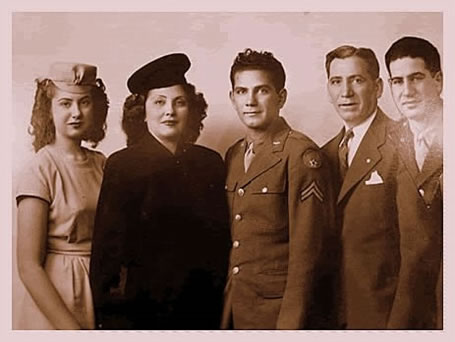 1943 Silverman Family Portrait