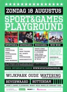 Sport &Games Playground 18 augustus