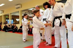 Sporten bij judover. Hashi  in Beverwaard