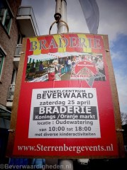 25 april braderie in Beverwaard