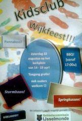 Kidsdag wijkfeest in Oud IJsselmonde